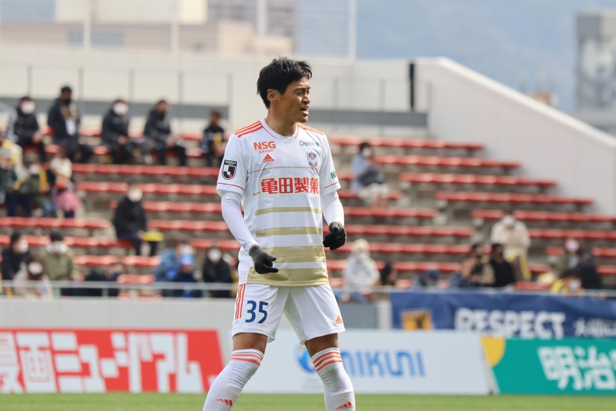 千葉 和彦 選手 2月27日(土)vs ギラヴァンツ北九州 試合後コメント