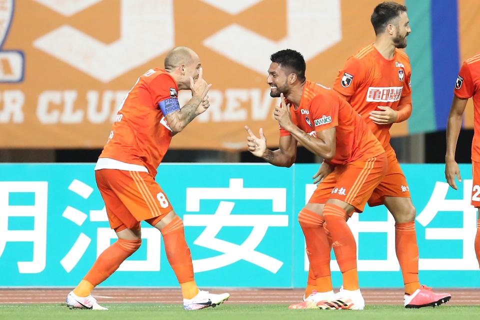 8月12日(水)J2リーグ 第11節 レノファ山口FC戦 フォトハイライト