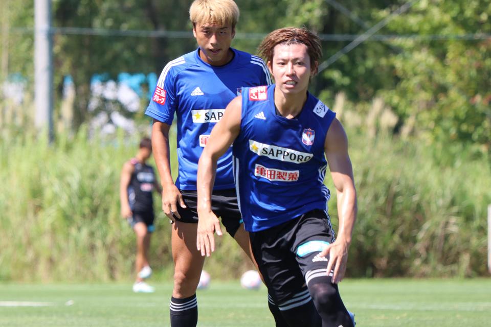 【9月1日(火)】トレーニング ピックアップフォト